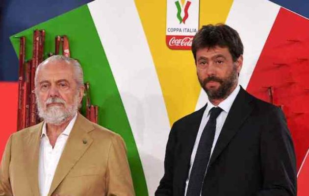 De Laurentiis Agnelli (ph.Web)