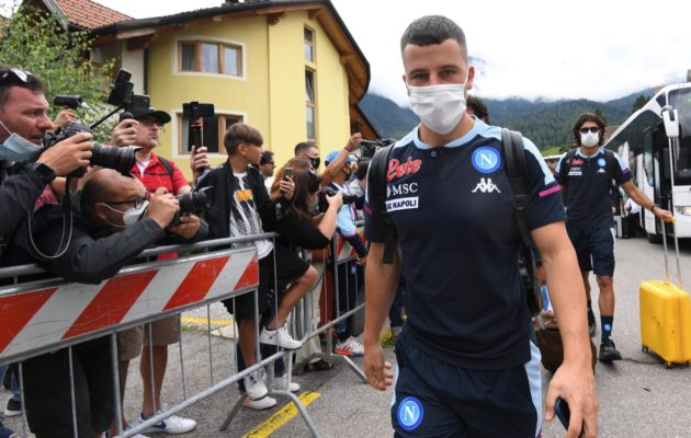 Ritiro Dimaro (ph. Twitter ufficiale SSC Napoli)