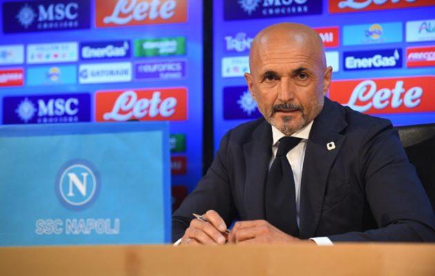 Luciano Spalletti (ph. Twitter ufficiale della SSC Napoli)