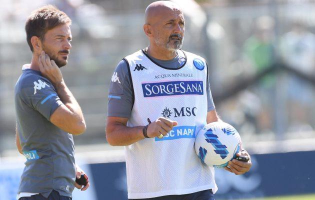 Luciano Spalletti (ph.Twitter ufficiale SSC Napoli)